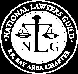 White NLF-SFBA Logo