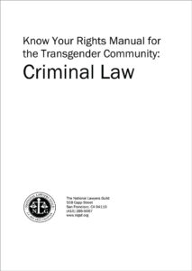 Know Your Rights for Transgender Community