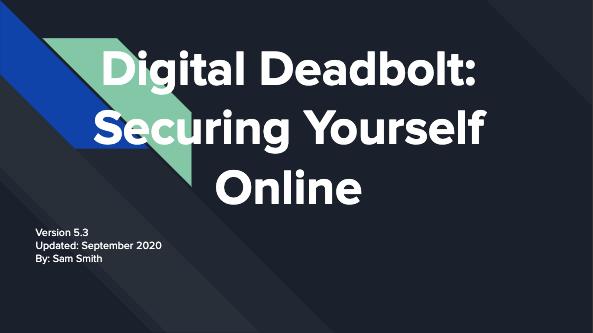 Digital Security for a safer world