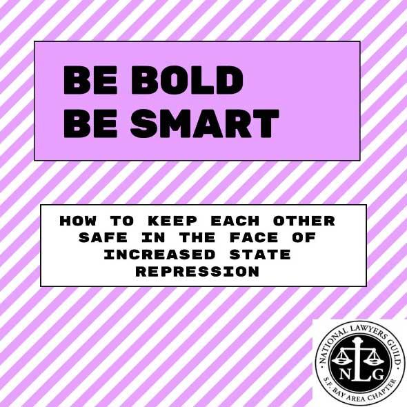 Be Bold Be Smart: Slide Deck