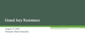 Grand Jury Resistance Presentation Slides