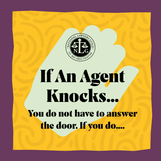 If An Agent Knocks