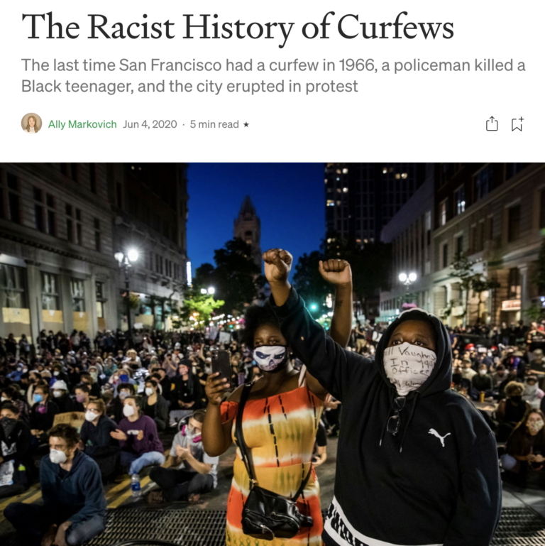 The Racist History of Curfews