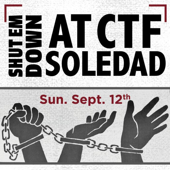 Shut Em Down at CTF Soledad - Press Conference Recording